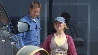 Hunter Biden's wife spotted being driven to Malibu Starbucks by Secret Service