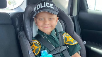Florida boy with cancer becomes honorary sheriff's deputy for a day