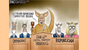 Political cartoon of the day: Judge and jury