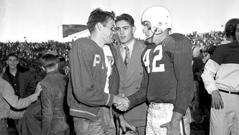 Rice RB tackled off bench in the 1954 Cotton Bowl has died
