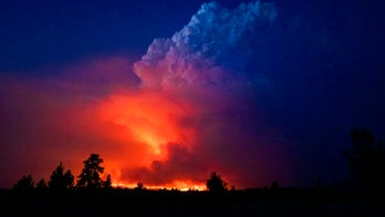 Oregon's Bootleg Fire is generating its own weather