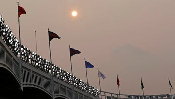 Western wildfires: Why the sun looks red over eastern states this week