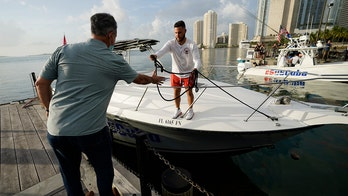 Small Florida flotilla returns from Cuba after showing support for protesters, democracy