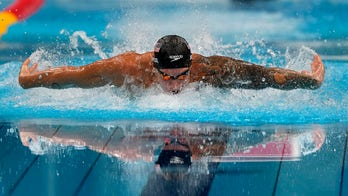 Caeleb Dressel wins gold for Team USA with new world record; Katie Ledecky earns three-peat in 800M freestyle