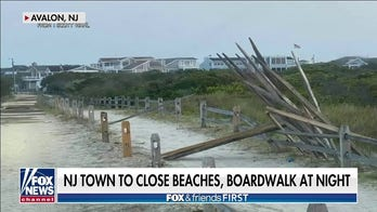 Crime forces Jersey Shore town to close beach, boardwalk early