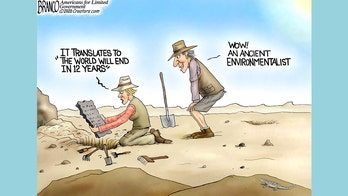 Best of political cartoons: History of leftist panic