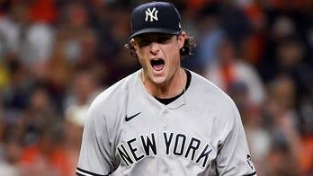 Yankees' Cole demands ball, completes 3-hit gem vs Astros