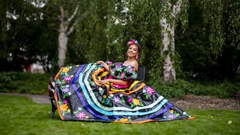 Prom dress made entirely from duct tape wins teen $10k scholarship