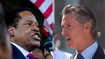 Gavin Newsom slammed for mask 'hypocrisy' and 'ignoring science' by GOP gubernatorial candidate Larry Elder
