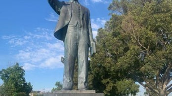 California Martin Luther King Jr., statue marked with Nazi symbols investigated as hate crime