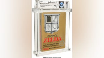 Rare 'Zelda' Nintendo game selling for over $100,000 at auction