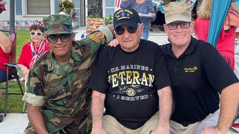 WWII veteran receives ultimate birthday surprise at 93