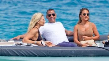 Alex Rodriguez enjoys birthday getaway in Saint-Tropez with mystery blonde, Jessie James and Eric Decker