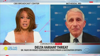 CBS' Gayle King tells Fauci she's banning unvaccinated family members from Thanksgiving, credits his advice