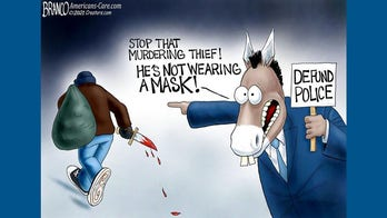 Political cartoon of the day: Selective outrage