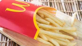 Video showing free french fry hack at McDonald's