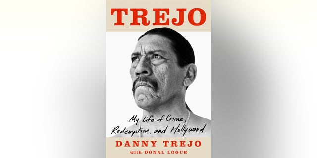 The character actor has written a memoir titled 'Trejo: My Life of Crime, Redemption, and Hollywood.'