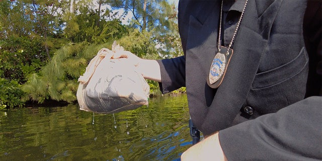 A plastic bag from New York led police up north where they made another shocking discovery.