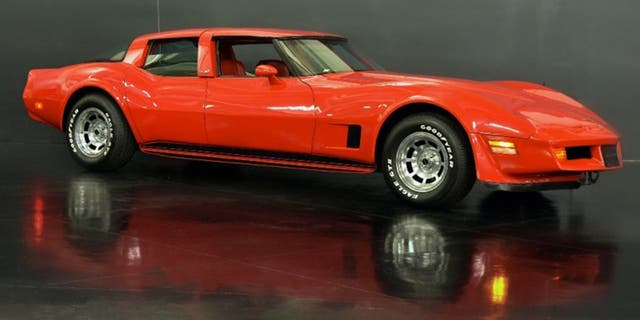 GM commissioned this four-door Corvette from California Custom Coach in 1980.