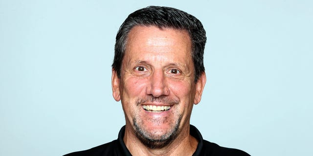 This 2019 file photo shows Greg Knapp, formerly of the Atlanta Falcons. Knapp was hired as a New York Jets assistant coach in January. (AP Photo/File)