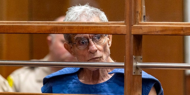 In this Sept. 19, 2019, file photo, Ed Buck appears in Los Angeles Superior Court in Los Angeles. (AP Photo/Damian Dovarganes, File)