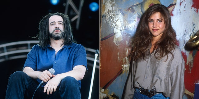 Adam Duritz claimed he didn't know who Jennifer Aniston was when he briefly dated her. The musician would eventually be connected to Courteney Cox as well.
