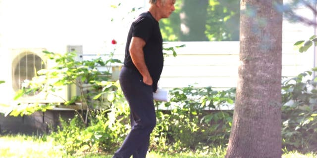 American actor Alec Baldwin was spotted buying a bottle of alcohol in The Hamptons on Friday, July 9, 2021.