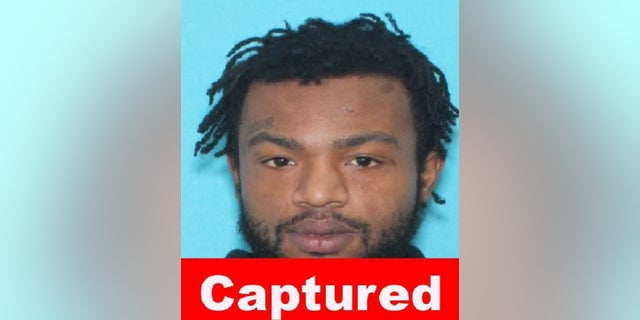Devontay Anderson, 22, a suspect in the killing of Jaslyn Adams, 7, was arrested Monday after a national manhunt, the FBI said.