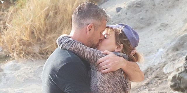 Renee Zellweger and Ant Anstead spotted kissing in Orange County.