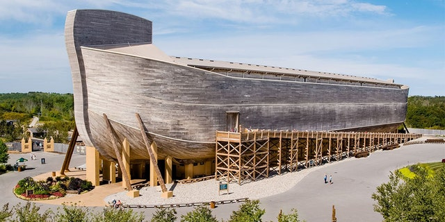 The Ark Encounter, a Bible-themed attraction in Kentucky that features a 510-foot-long wooden Noah's ark, is planning to begin fundraising for an expansion.