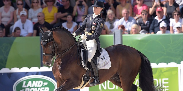 Max-Theurer, 35, would have been making her fifth Olympic appearance.