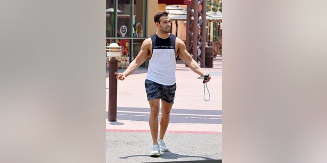 """A source recently described Sam Asghari to Fox News as a """"beacon of goodness and positivity"""" in Britney Spears' life."""