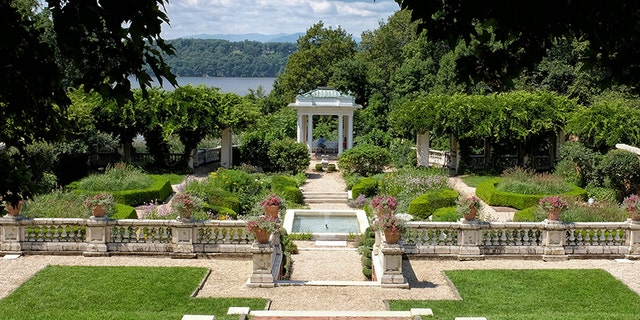 View of the grounds of the Blithewood Gardens at Bard College, Annandale, New York. The school is offering a course on how to sell prison abolition to the masses. (Photo by John Kisch Archive/Getty Images)