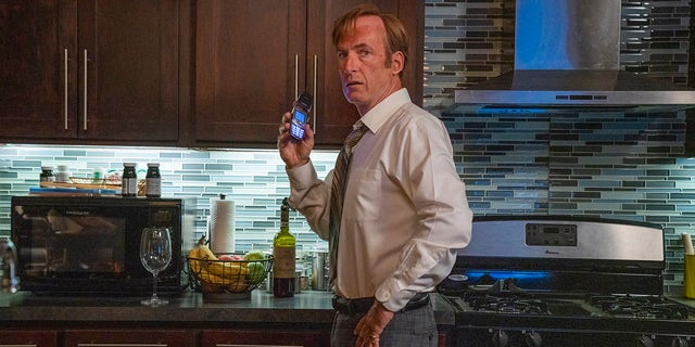 Bob Odenkirk in 'Better Call Saul.' He was filming the sixth and final season when he collapsed.