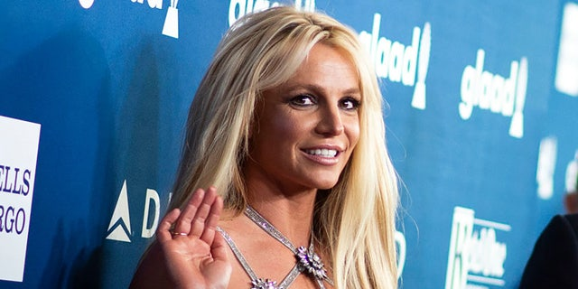 Singer Britney Spears attends the 29th Annual GLAAD Media Awards at the Beverly Hilton on April 12, 2018 in Beverly Hills, California. Photo by VALERIE MACON/AFP via Getty Images)