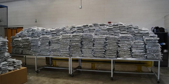 U.S. Customs and Border Protection agents seized over 2,500 pounds of marijuana in Detroit last week.