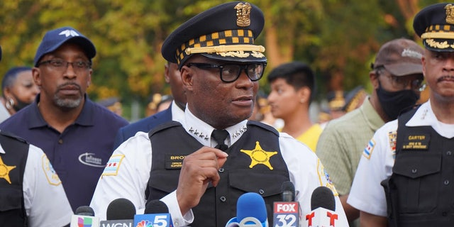 Superintendent David Brown, Chicago Police