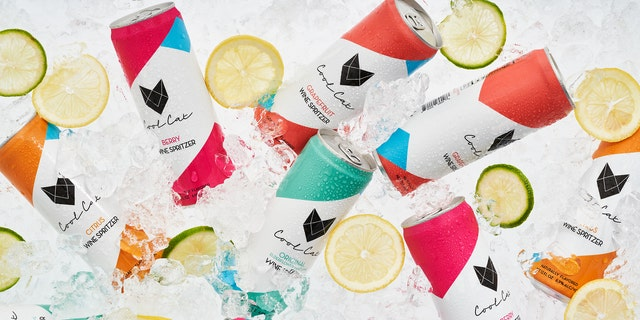 Cool Cat Wine Spritzers blends California Pinot Grigio with seltzer. (Courtesy of Cool Cat Wine Spritzers)