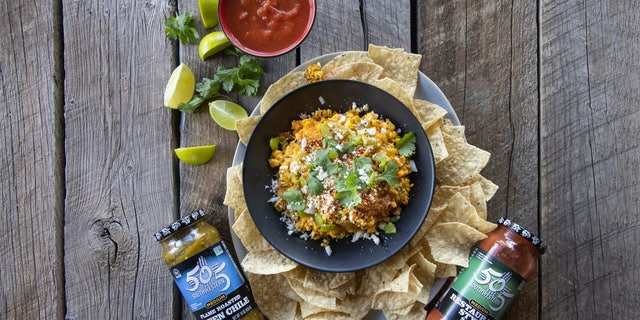This corn dip from 505 Southwestern brings the heat.