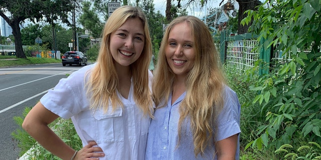 Gaby Deimeke, 26, from Austin, Texas, (left) told Fox News she used Bumble BFF to find friends when she moved to Austin in 2019. She met her friend Alex (right) and even invited Alex to her birthday party.