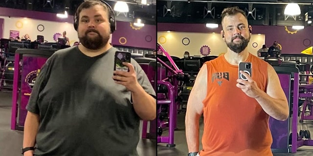 Stephen Vysocky, from Riverside, California, lost 240 pounds in 3 years.