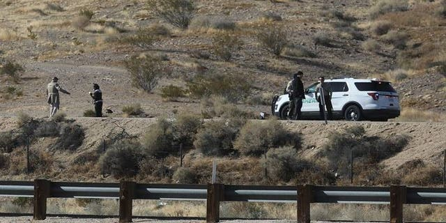 The Kern County Sheriff's Office said it found three sets of human remains between Jan. 9 and March 17 off of Frontage Road, which runs parallel to Highway 14.
