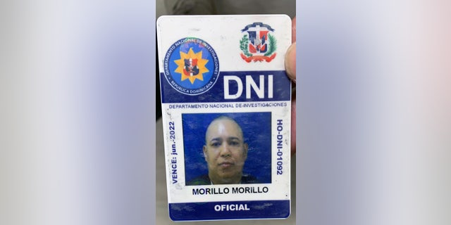 Hector Morillo, 46, was found with an ID fromt he Dominican Republica National Investigation, authorities said.