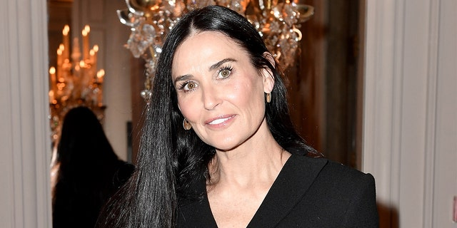 Demi Moore is currently vacationing in Santorini with daughters Rumer, Scout and Tallulah Willis.