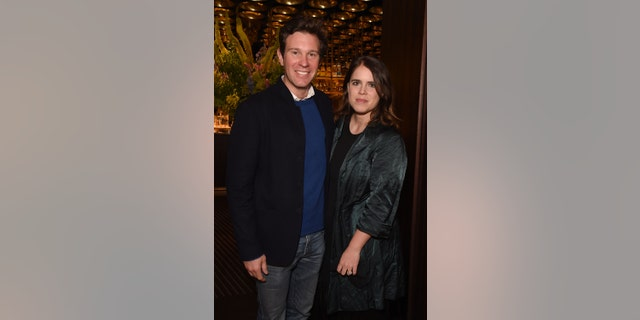 Jack Brooksbank and Princess Eugenie welcomed a son in February of this year.