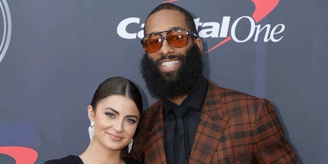 Rachael Kirkconnell and Matt James attend the 2021 ESPY Awards in New York City on July 10, 2021. (Michael Loccisano/Getty Images)