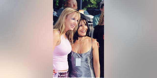 Lynne Spears reportedly hasn't been involved in the conservatorship but has been trying to help Britney recently.The two are pictured here in 1999. (Photo by Jeff Kravitz/FilmMagic)