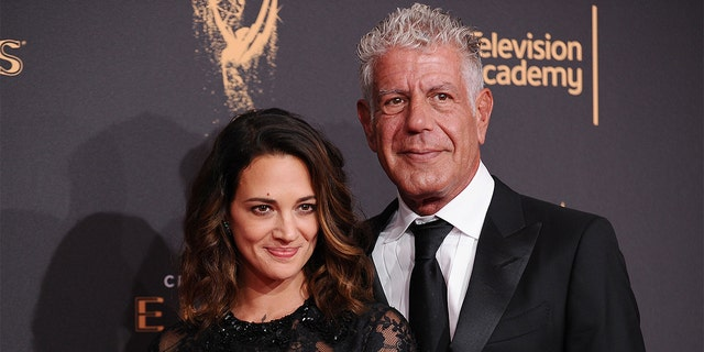 Asia Argento and Anthony Bourdain were dating shortly before the 'Parts Unknown' star passed away.
