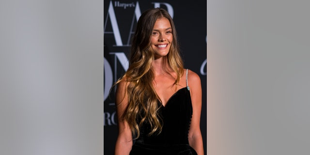 Nina Agdal said she loves to stock up on whole, clean ingredients to prepare fun dishes at home.