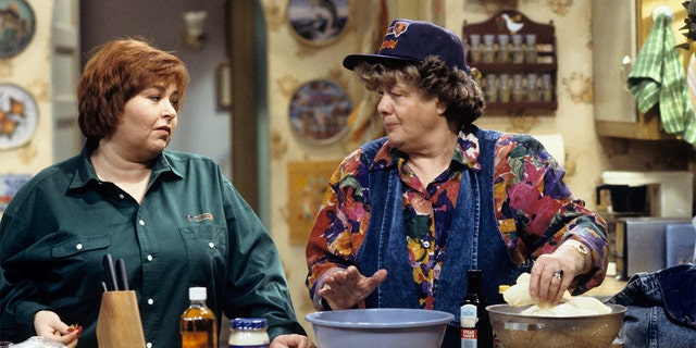 Shelley Winters played Roseanne Barr's grandmother in 'Roseanne.'